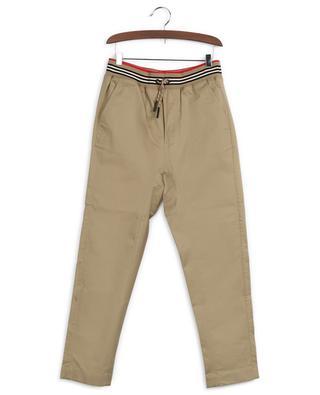 Hose aus Baumwolle mit elastischem Bund BURBERRY