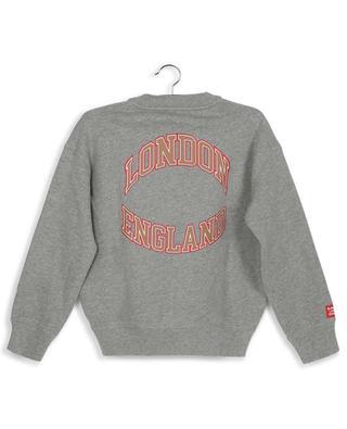Yearbook cotton animal print sweatshirt BURBERRY