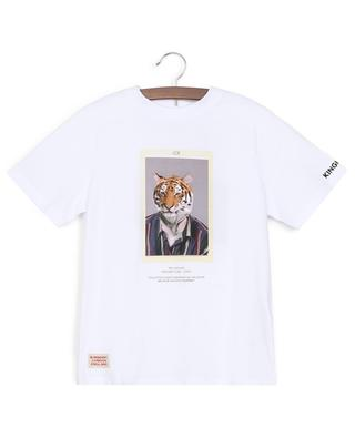 T-shirt en coton Tiger Joe BURBERRY