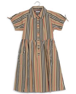 Kurzarm-Kleid mit Icon-Streifen Josephine BURBERRY