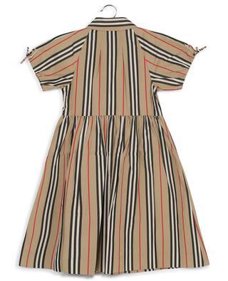 Josephine Icon Stripe short sleeve dress BURBERRY