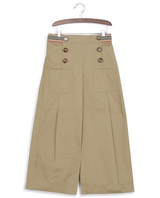 Hose mit Bundfalten und Zierknöpfen Tracey BURBERRY