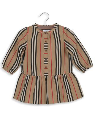 Robe en coton embellie Icon stripe Ella BURBERRY