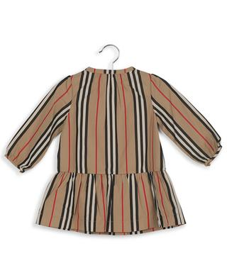 Ella Icon stripe cotton dress BURBERRY