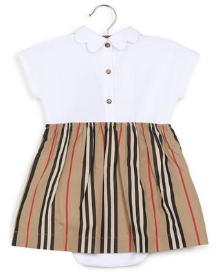 Icon Stripe cotton dress BURBERRY