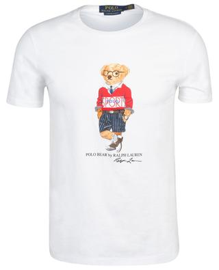 Custom Slim Fit Polo Bear print cotton jersey T-shirt POLO RALPH LAUREN