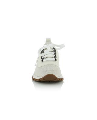 Glitzernde Sockensneakers mit Lurex BRUNELLO CUCINELLI