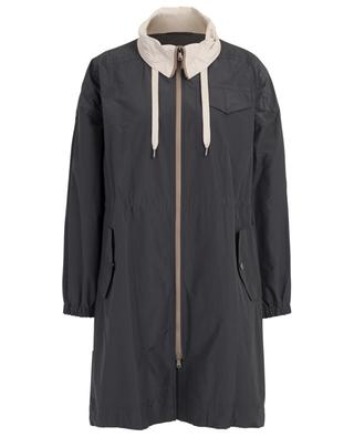 Cotton blend raincoat BRUNELLO CUCINELLI