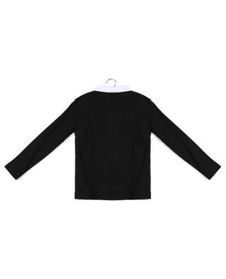 Langarm-Polohemd mit Mustermix BURBERRY