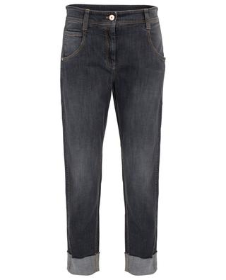 Straight cotton jeans BRUNELLO CUCINELLI