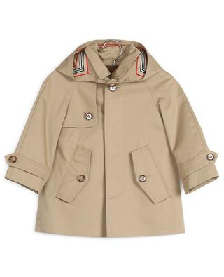 Lined cotton trenchcoat BURBERRY