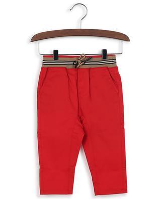 Pantalon en sergé de coton Dilan Icon Stripe BURBERRY