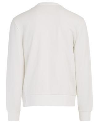 Round neck cotton sweatshirt with logo MONCLER
