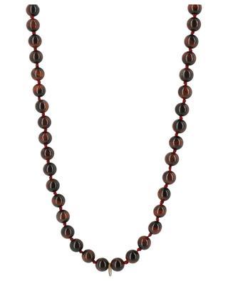 Long stone bead necklace Mandala MOON°C PARIS