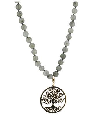 Halskette aus Stein Lebensbaum MOON C° PARIS