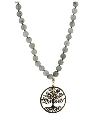 Stone necklace Tree of Life MOON C° PARIS