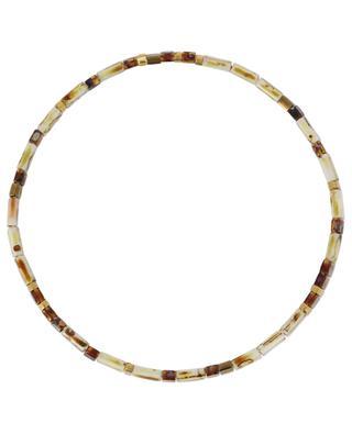 Bracelet élastiqué en perles plates MOON°C PARIS