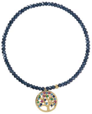 Tree of Life elasticated stone bead bracelet MOON C° PARIS