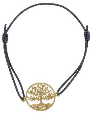 Golden Tree of Life cord bracelet MOON C° PARIS