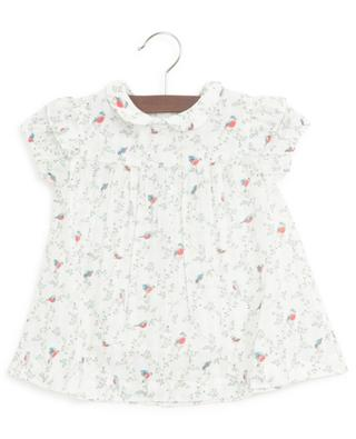 A-förmiges Kleidchen mit Vogelprint Aime BONTON
