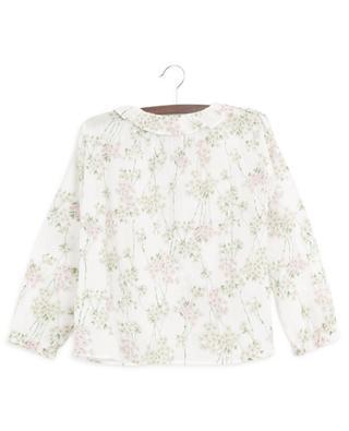 Bluse aus geblümtem Baumwollvoile Avril BONTON