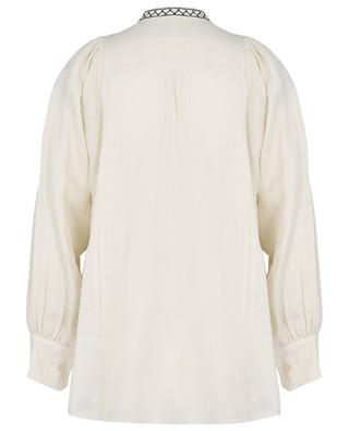 Terni embroidered linen shirt WEEKEND MAXMARA