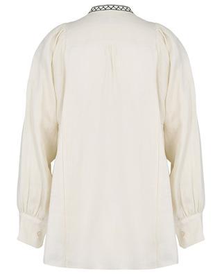 Besticktes Hemd aus Leinen Terni WEEKEND MAXMARA