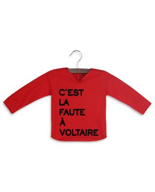 Meo long-sleeved slogan print T-shirt ZADIG & VOLTAIRE