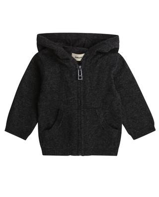 Zippered hooded cardigan ZADIG & VOLTAIRE