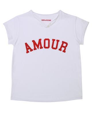 Kurzarm-T-Shirt mit Print Amour Boxo ZADIG & VOLTAIRE
