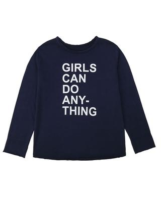 Langarm-T-shirt mit Print Boxo Girls Can Do Anything ZADIG & VOLTAIRE