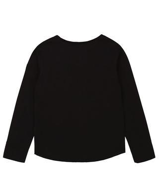 Langarm-T-Shirt mit Glitter-Logo-Print Boxo ZADIG & VOLTAIRE