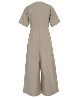 Humour short-sleeved cotton jumpsuit WEEKEND MAXMARA