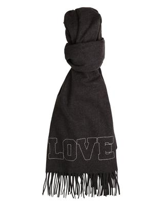 LOVE embroidered scarf ZADIG & VOLTAIRE