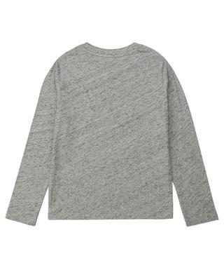 Langarm-T-Shirt mit Print Earth Boxo ZADIG & VOLTAIRE