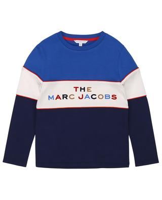 T-shirt à manches longues imprimé logo THE MARC JACOBS