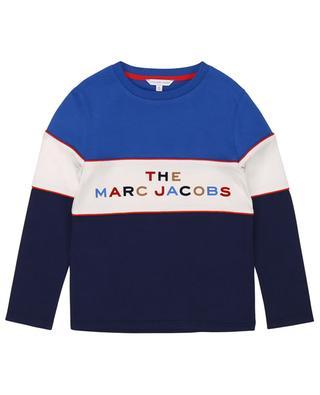 T-shirt à manches longues imprimé logo THE MARC JACOBS