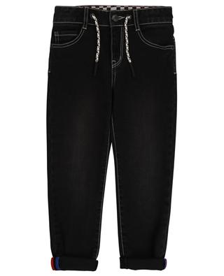 Jeans mit geradem Bein mit Hot Dog- und Schachbrett-Details THE MARC JACOBS