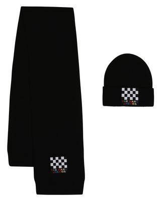 Set aus Schal und Mütze mit Logo-Patch THE MARC JACOBS