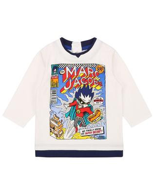 Long-sleeved T-shirt with comic print THE MARC JACOBS