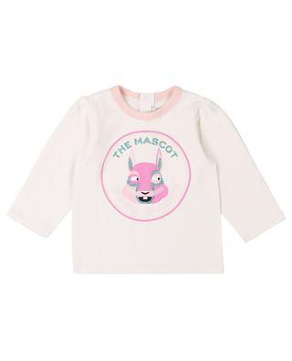 Langarm-T-Shirt mit Glitterprint The Mascot THE MARC JACOBS