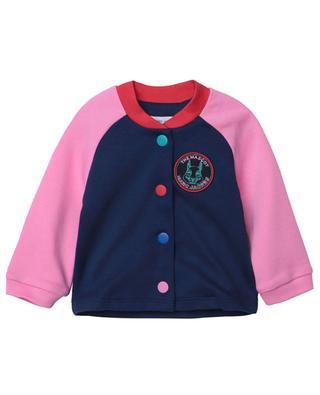 The Mascot bicolour button-down sweat jacket THE MARC JACOBS