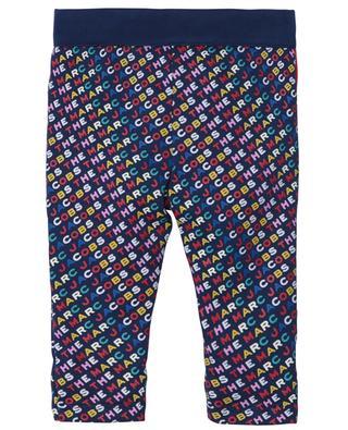 Pantalon en jersey imprimé logo multicolore THE MARC JACOBS