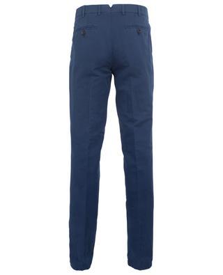 Pantalon fuselé en lin et coton Italian Fit BRUNELLO CUCINELLI
