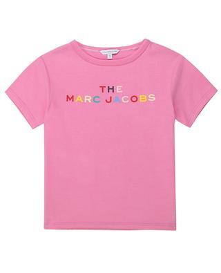 T-Shirt aus Jersey mit kunterbuntem Logoprint THE MARC JACOBS