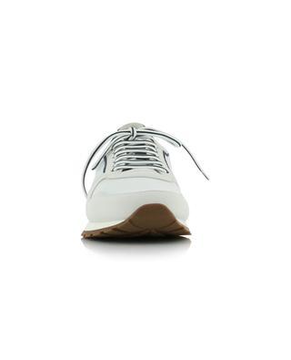 Active mesh, suede and calfskin sneakers BRUNELLO CUCINELLI