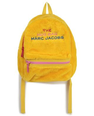 Logo embroidered faux fur backpack THE MARC JACOBS
