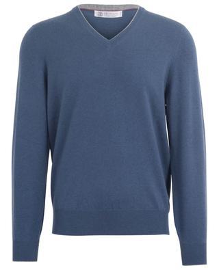 V-neck cashmere jumper BRUNELLO CUCINELLI