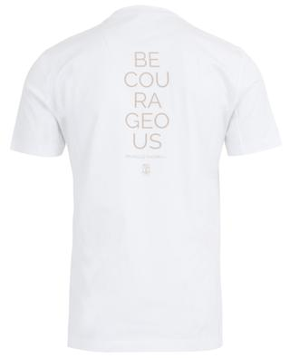 Be Courageous cotton T-shirt BRUNELLO CUCINELLI