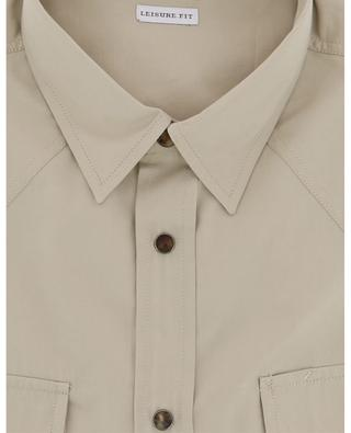 Hemd aus Baumwoll- und Lyocellmix BRUNELLO CUCINELLI
